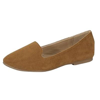 Forever Link Women's Slip On Smoking Loafer Slipper Flat | Loafers & Slip-Ons