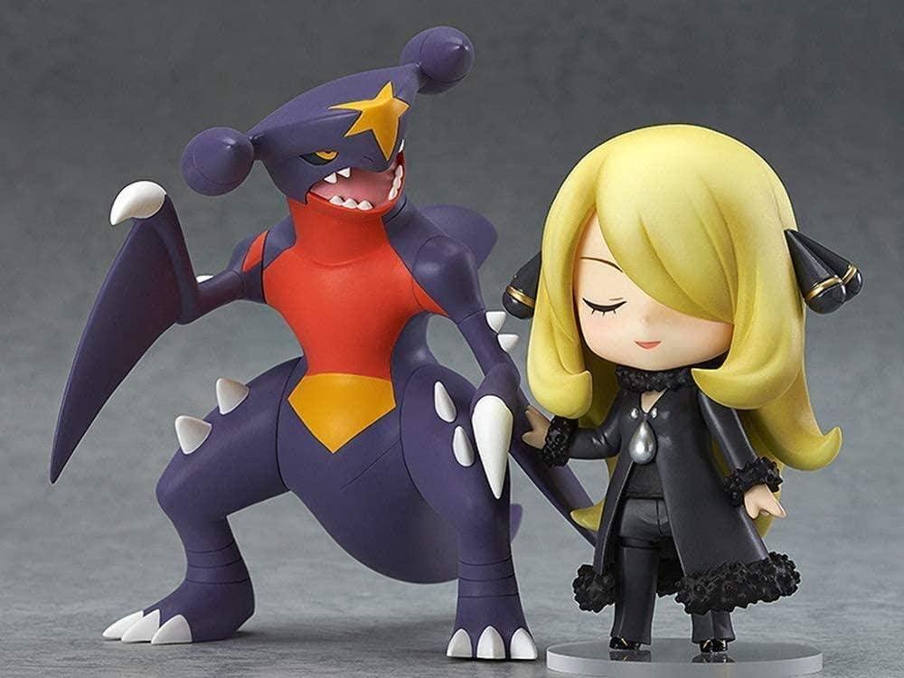 CVB Pok/émon Cynthia Q Versi/ón PVC Anime Juego de Dibujos Animados Personaje Modelo Estatua Figura Juguete Coleccionables Decoraciones Regalos Favorito de Anime Fan