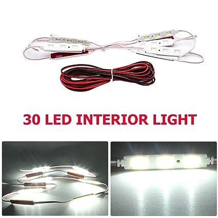 Prime Car Interior Lights Kit 30 Led Maso Waterproof 12V Led Light Kit Wiring 101 Bdelwellnesstrialsorg