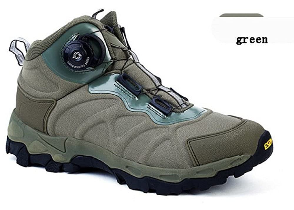 Murri Gear Men/'s Military Leather Safety Work Shoes Lace up Ankle Boots.