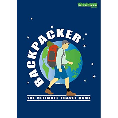 Backpacker - The Ultimate Travel Game - Fun Pocket Sized Card Game About Travelling Around The World: Toys & Games