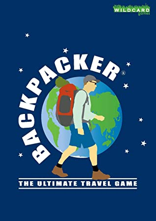 Fun pocket sized card game about travell The Ultimate Travel Game BACKPACKER