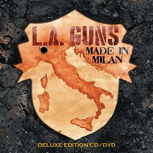 Blu-ray : L.A. Guns - Made In Milan (Blu-ray)