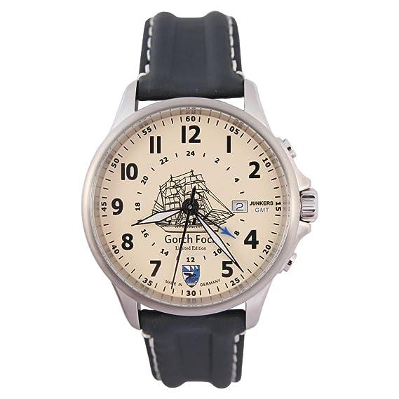 Junkers cuarzo reloj de pulsera Limited Edition Gorch Fock –