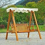 Outsunny 2 Seater Wooden Swing Chair Hammock Heavy-Duty - Best Reviews Guide