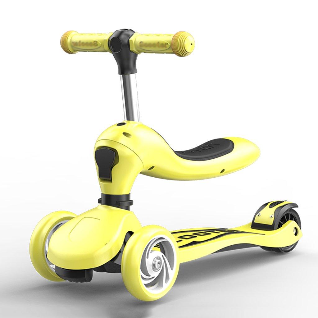 公式の  スクーターfoldable調整可能な子供foldableウォーカー多機能スライドの車のフラッシュpuの車は3-10歳に座ることができます B07FYJP9RY B07FYJP9RY Yellow Yellow, ハシモトシ:177ad1f2 --- a0267596.xsph.ru