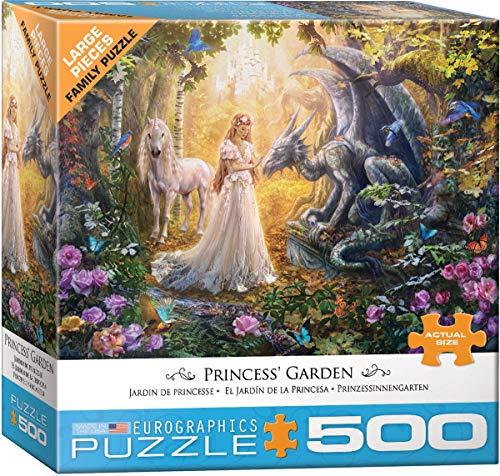 Garden Princess - Princess' Garden by Jan Patrik 500-Piece Puzzle
