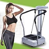 mymotto Full Body Plateforme Vibrante Fitness Brûler des Calories Gym Machine Masseur Vibration Machine avec Affichage LED, Charge Maximale : 150 kg