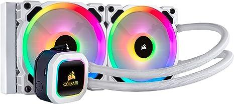 Corsair Hydro 100i RGB Platinum SE - Radiador de 240 mm (Dos LL120 ...