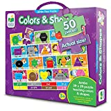 The Learning Journey Jumbo Colors And Shapes Floor Puzzle