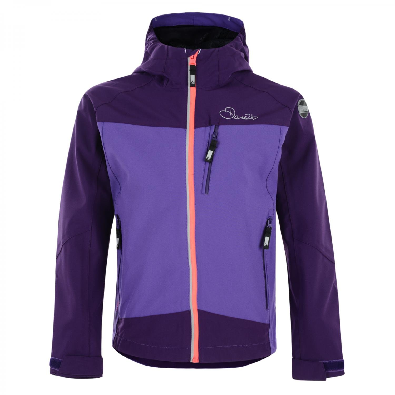 Dare2b Resonance Jacket, hochwertige wasserdichte Kinder Full-Stretch Funktionsjacke