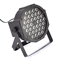 Refletor Led Par 64 Rgbw 36 Leds 1w Display Digital Strobo