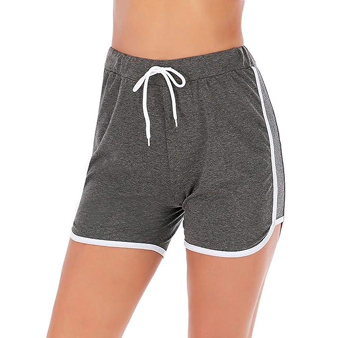 STRIR Mujer Pantalones Cortos Deportivos Pantalones Cortos ...