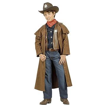 Déguisement de shérif pour enfant costume de cowboy 158 cm 12-14 ...