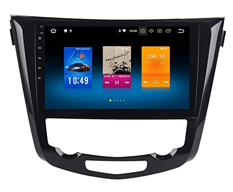 "Roverone 10.2""Android 8.0 Octa Core Autoradio Coche GPS Reproductor para Nissan X-Trail"
