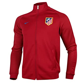 Nike ATM M NSW N98 TRK JKT AUT Chaqueta Atlético de Madrid, Hombre, Rojo