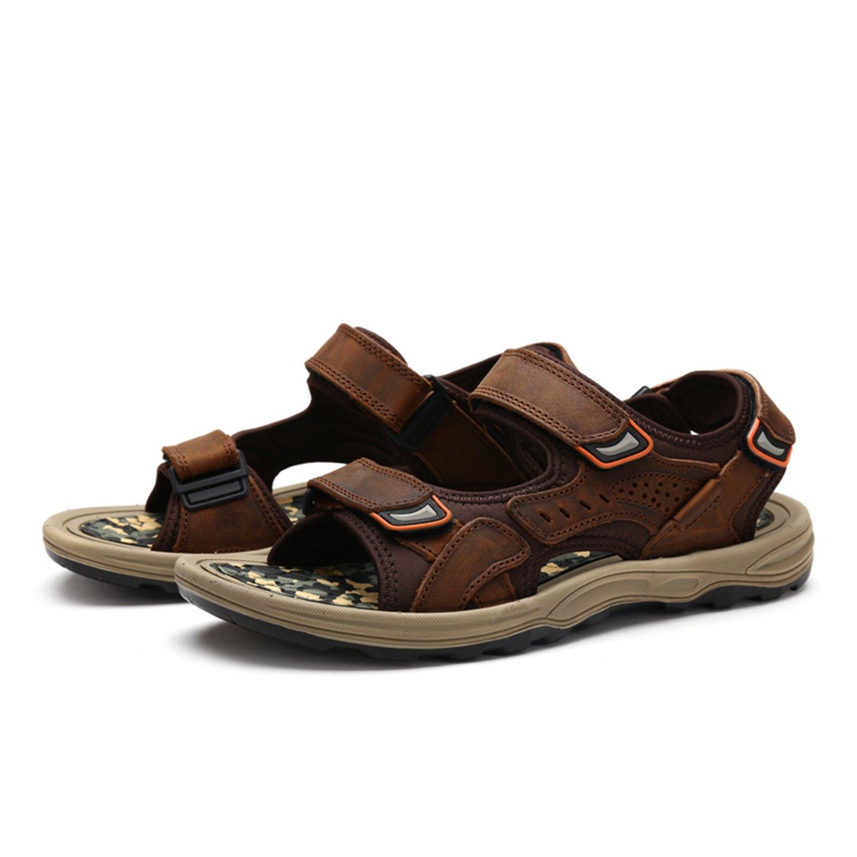 Nomioce - Sandalias Hombre 38 EU|Marrón Zapatos de moda en línea Obtenga el mejor descuento de venta caliente-Descuento más grande