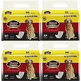 Pañales desechables para perros Dono Los envolturas para perros para perros Pañales suaves súper absorbentes para