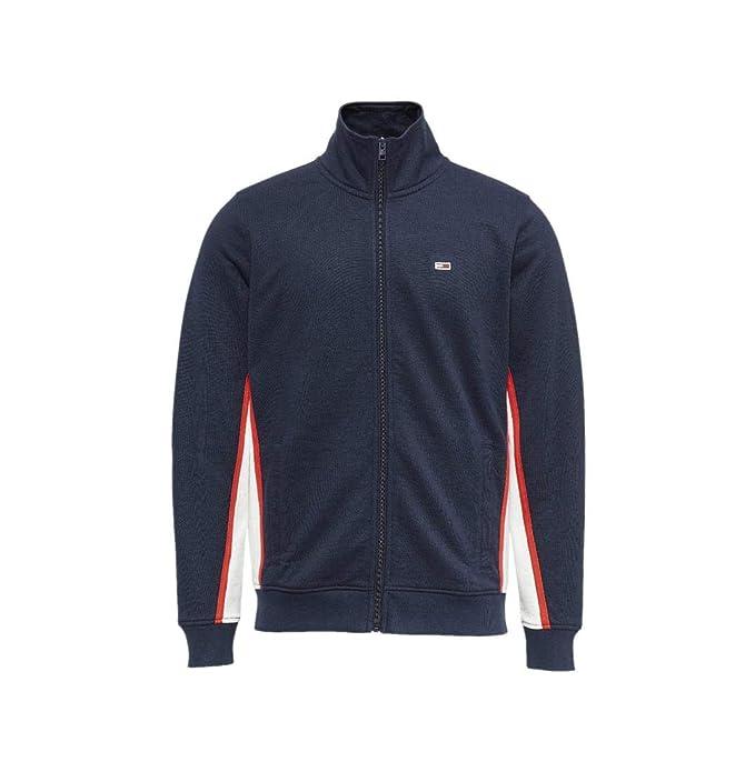 new product 4a502 f5f24 Tommy Hilfiger - Cardigan - Uomo Blu XXL: Amazon.it ...