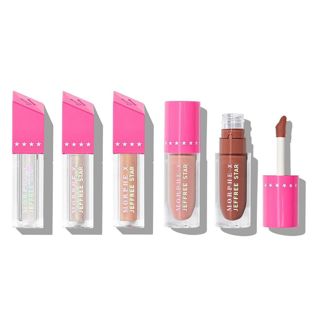 Morphe X Jeffree Star Iconic Nudes Lip C Buy Online In Maldives At Desertcart Morphe logo in expanded mobile menu. morphe x jeffree star iconic nudes lip collection 5 piece set liquid lipstick gloss and topper liquid lippies meet high shine glosses in one