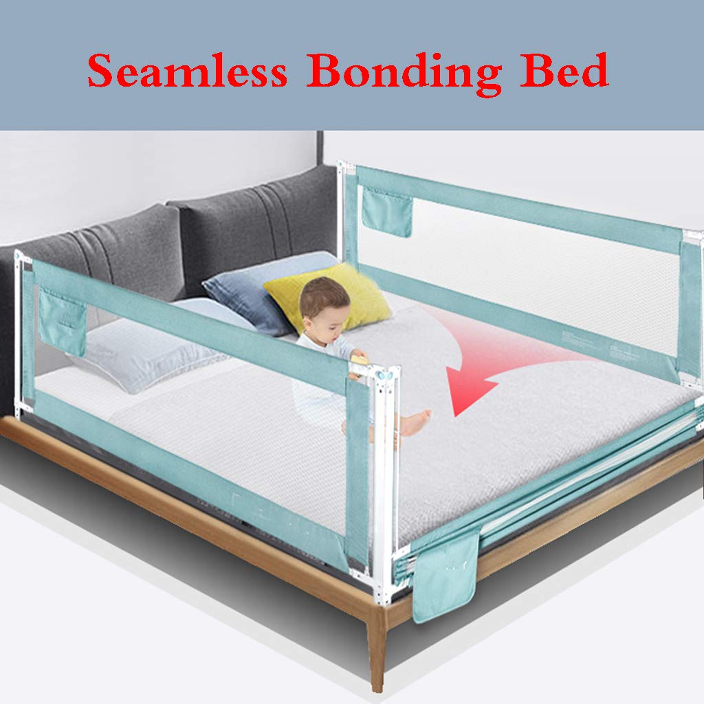 Bed Guard Portable and Foldable Bed Rail for Baby Portable Folding Bed Rail Single Bed Guard Safety Protection Guard for Toddler Baby and Childre by SONGTING Guardrail (Image #5)