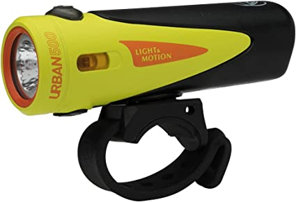 Lumière nouvelle et Motion Urban 500-Onyx rechargeable phare
