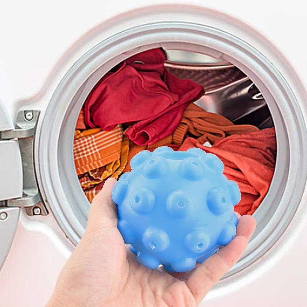 4 formas Suavizar Limpiar Lavado Lavadora Secadora Bolas Lavadora antiarrugas Bolas de lavado Productos de lavandería Accesorios Bola de lavado 2019,3 PCS
