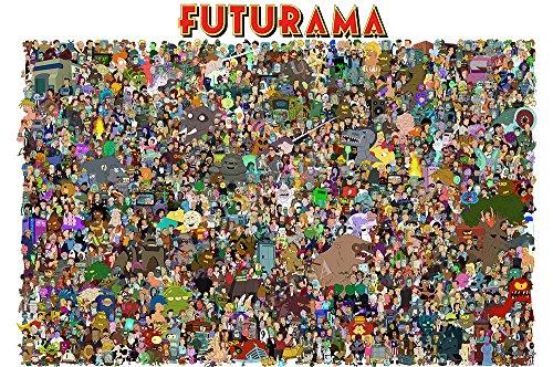 Posters USA - Futurama TV Series Show Poster GLOSSY FINISH - TVS107 (24