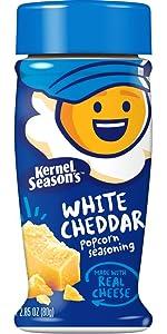 Kernel Season's Popcorn Seasoning, White Cheddar, 2.85 Ounce (Pack of 6)