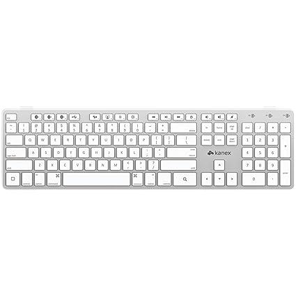 bae7b2e3455 Amazon.com: Kanex Multi-Sync Bluetooth Keyboard for iOS Mac, iPad and  iPhone (QWERTYX): Computers & Accessories