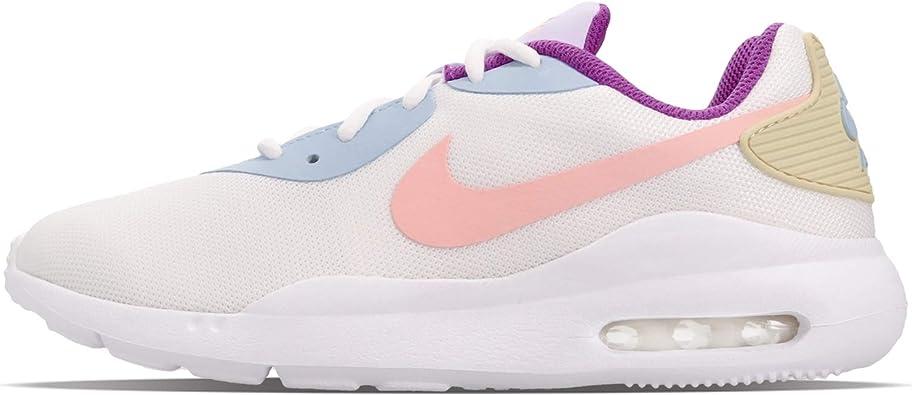 Amazon.com: Nike WMNS Air Max OKETO, blanco y coral ...
