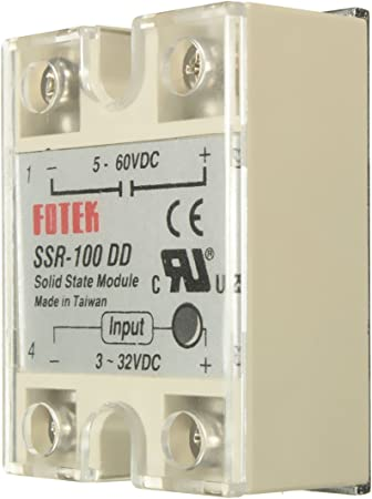 SSR-100 DD Solid State Module Solid-state Relay DC-DC 100A 3-32V DC//5-60V DC C6P