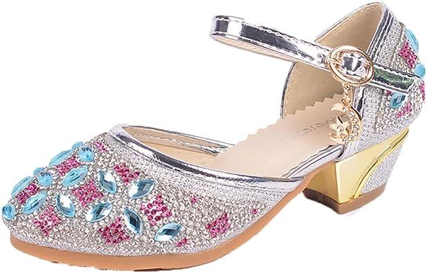 miaoshop Kids Girls Princess Sandals