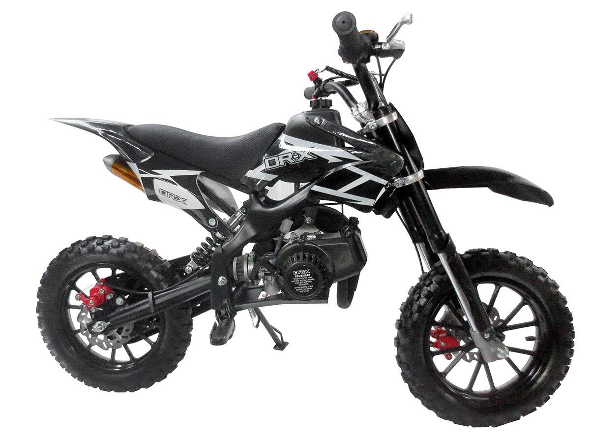 Automatic Transmission Motorcycle >> Amazon Com Syx Moto Kids Mini Dirt Bike Gas Power 2 Stroke 50cc