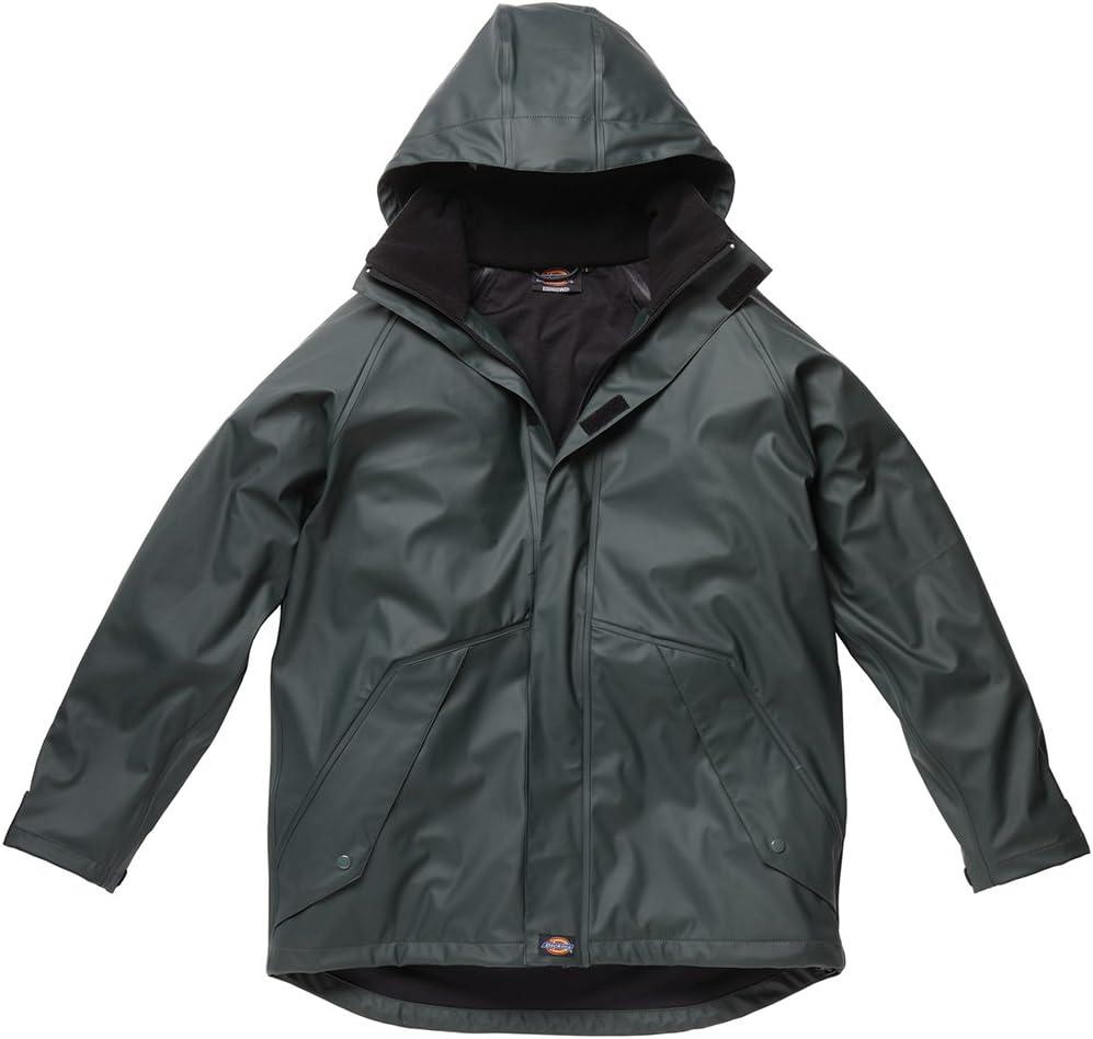 Dickies WP50000 GR S Size Small Raintite Jacket Green