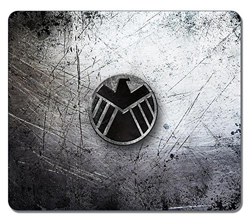 Customized Fashion Style Textured Surface Water Resistent Mousepad Agents Of Shield Non-Slip Best Large Gaming Mouse Pads - Agents Of Shield Mouse Pad