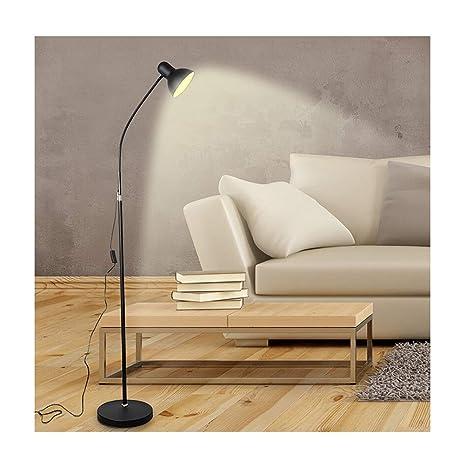WB_L Lámparas de pie Lámpara de pie LED, luz cálida 5W ...