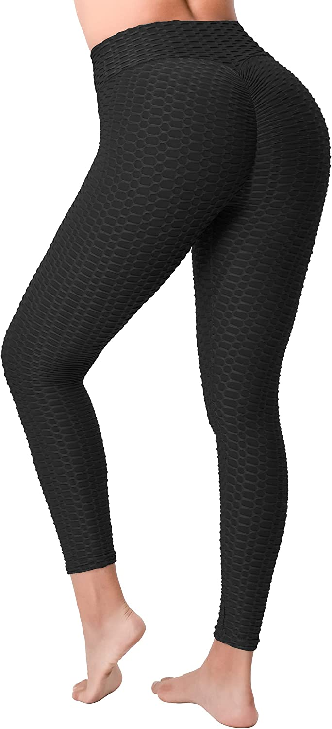 Details about  /Women Yoga Anti-Cellulite Leggings Pants High Waist Gym Sports Trousers Fitness