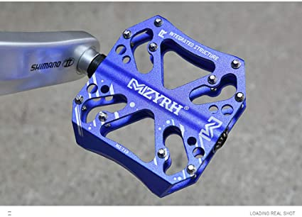 Bicicleta de montaña pedal CNC aleación de aluminio rodamiento ...
