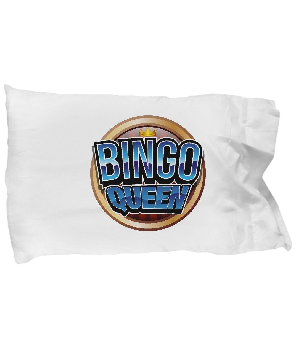 Cute Pillow Covers Design Bingo Queen Bingo Player Gift Funny Gift Pillow Cover Ideas by De Look