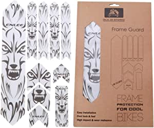 Bicycle Bike Frame Rack Stickers Anti-Scratch Protector Cycling Decals Set UQ