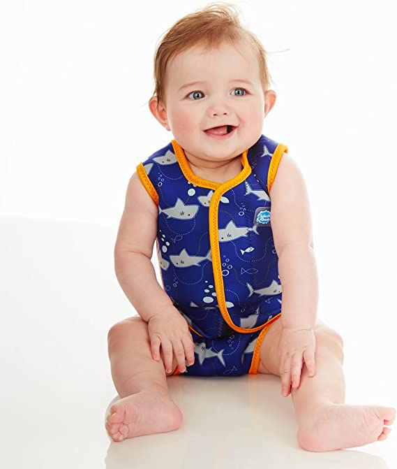 Splash About Baby Wrap Wetsuit Under The Sea 6-18 Months