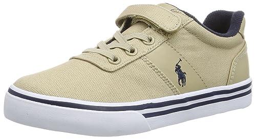 Polo Ralph Lauren Hanford EZ, Mocasines Unisex-Adulto, Verde (Grün (Khaki), 32 EU: Amazon.es: Zapatos y complementos