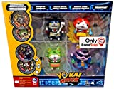 Yo-Kai Watch Robonyan, Jibanyan, Thornyan & Baddinyan Exclusive Action Figure [Includes 2 Exclusive Metals!] by Yokai Watch