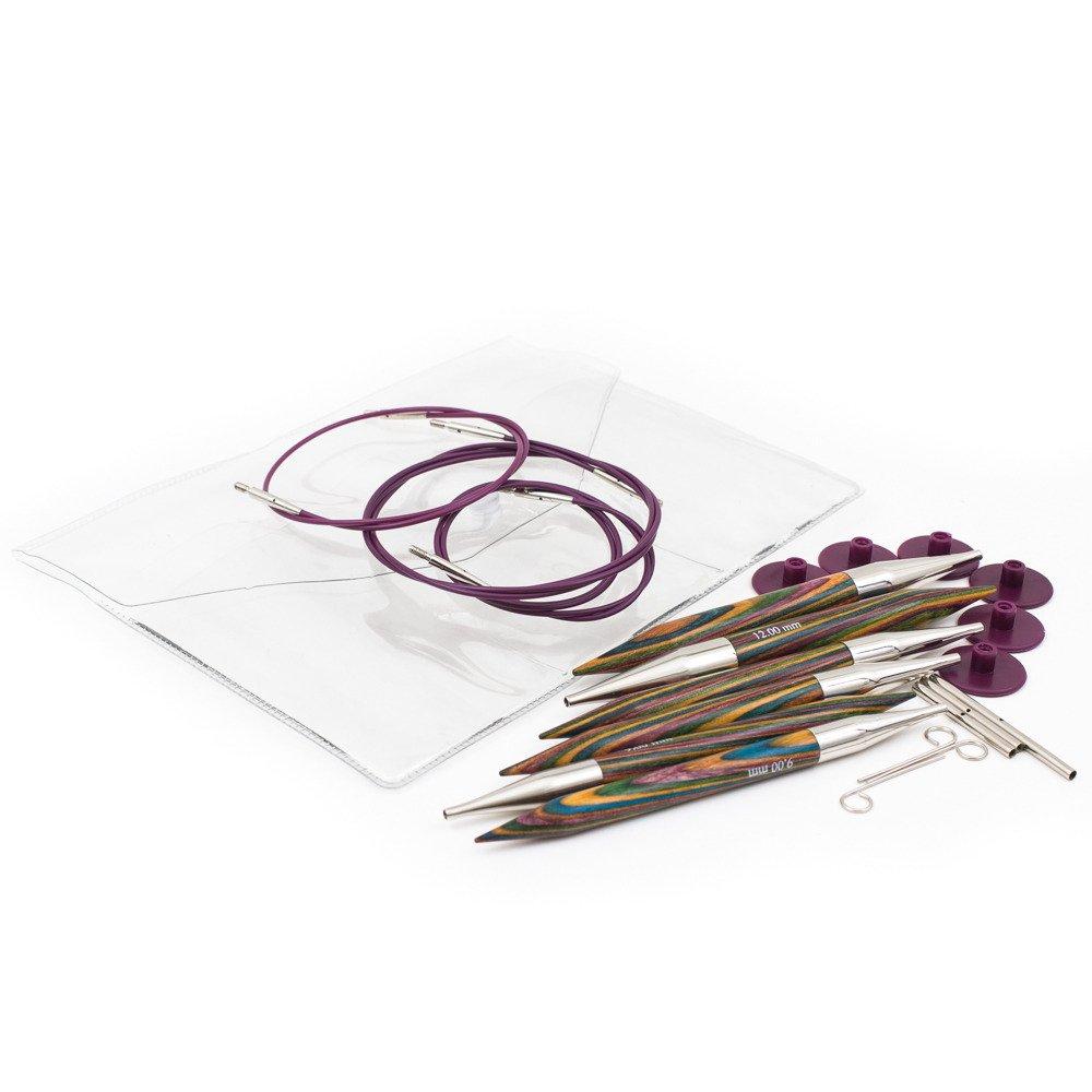 KnitPro KP20603 | Symfonie Chunky Interchangeable Circular Knitting Needle Set