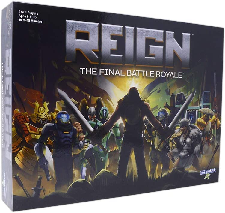 Reign-- The Final Battle Royale Strategy Game for Kids and Families