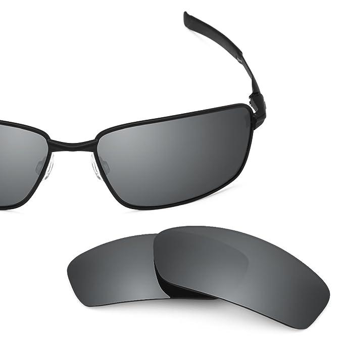 504ba920522 Revant Polarized Replacement Lenses for Oakley Splinter Black Chrome  MirrorShield