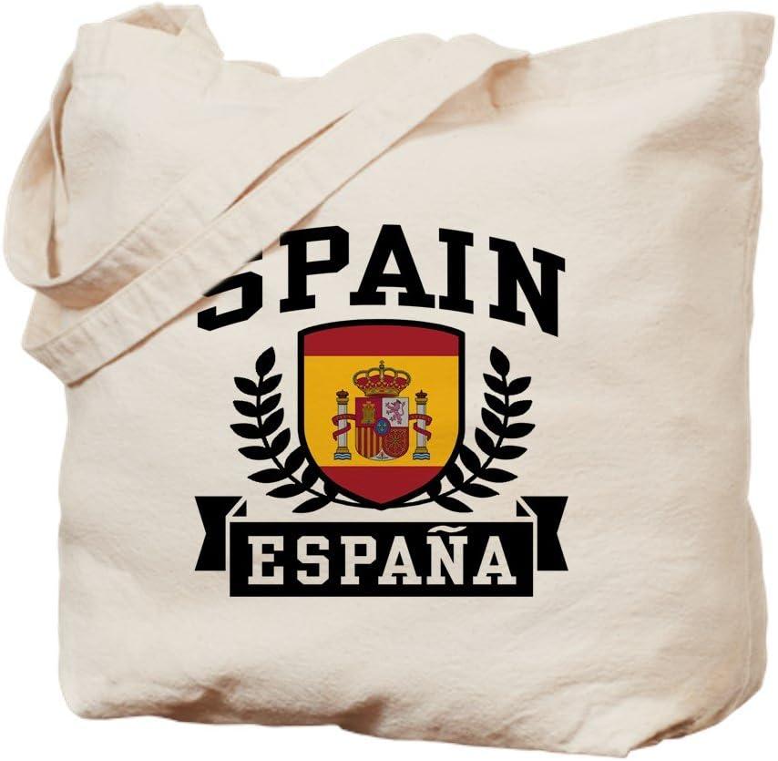 CafePress – España Espana – Bolso de tela Natural, gamuza bolsa para la compra: Amazon.es: Hogar