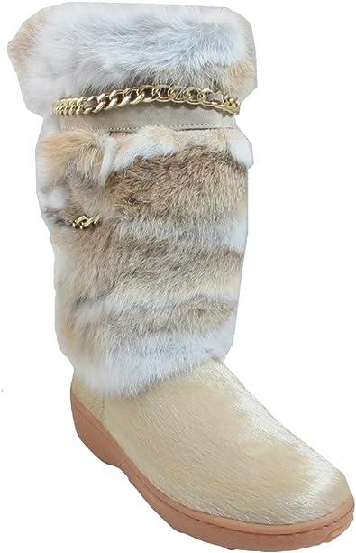 PAJAR Women's Maya Fur Boot with Chain