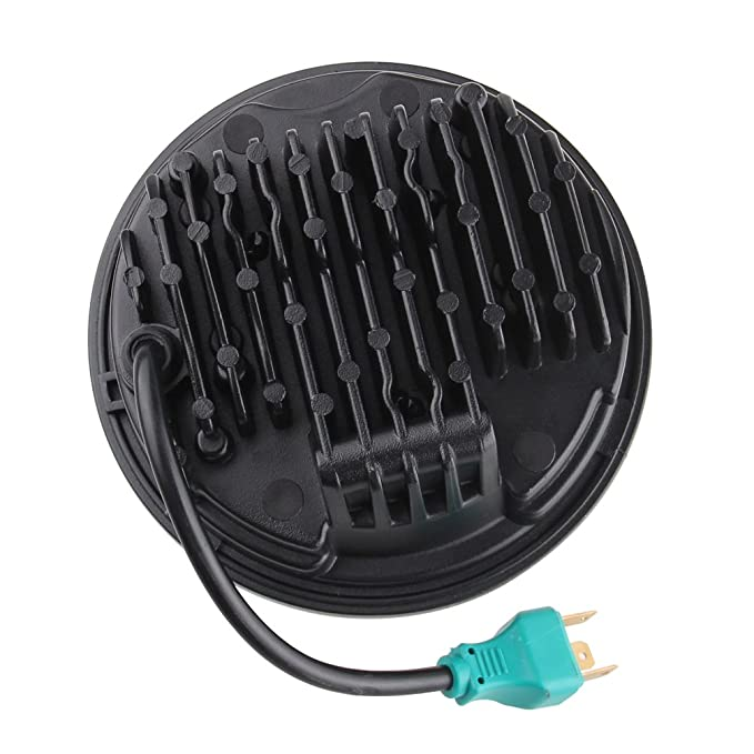 5-3/4 5.75 Inch Projector LED Headlight for Harley Davidson Motorcycles on